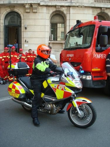 medicalized motorcycle producer intervention  medical emergencies