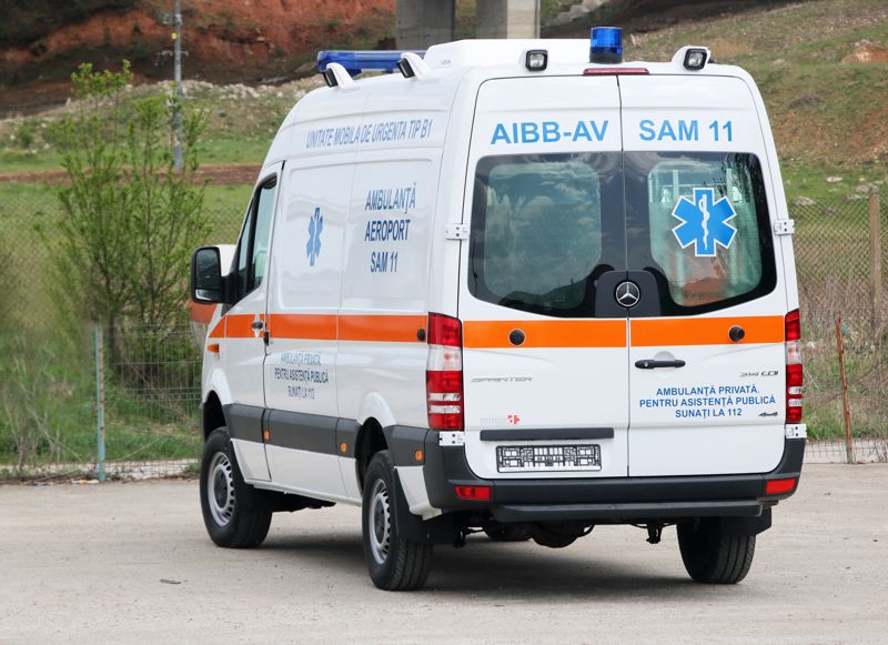 Ambulanta b1 sprinter deltamed for B1 service mercedes benz